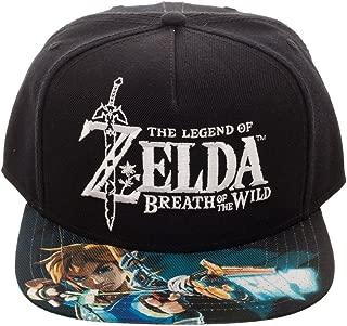 Zelda Breath of the Wild Snapback Hat