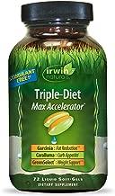 Irwin Naturals Triple-Diet Max Accelerator - Stimulant Free Healthy Weight Management Supplement - 72 Liquid Softgels