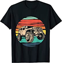 Vintage Jeep Retro 70s Off Road Boys Girls Men Women 4x4 Tee T-Shirt