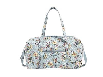Vera Bradley Large Travel Duffel (Floating Garden) Handbags