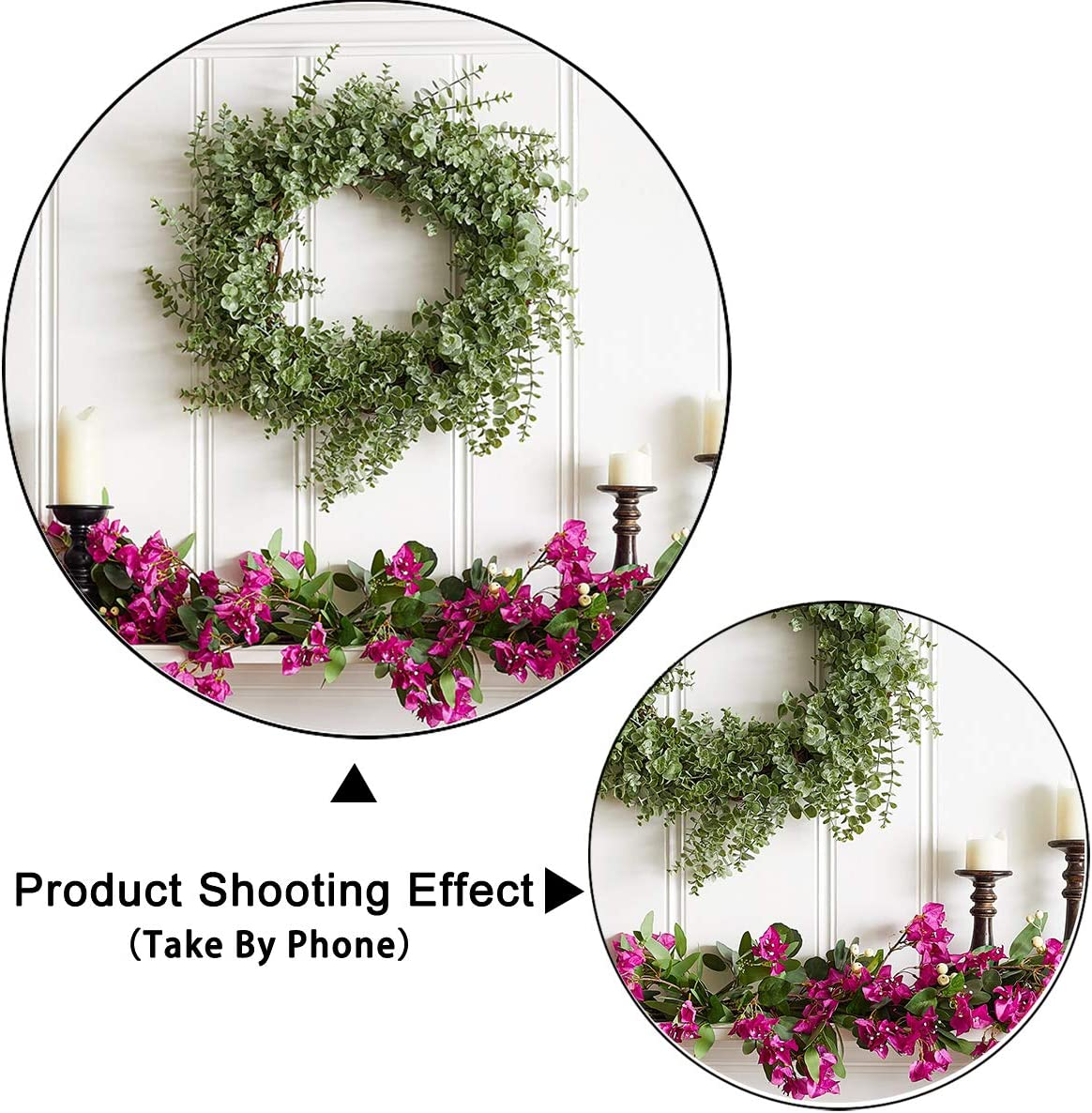 Levoo Flannel Flowers and Grass Wall Background Banner Photography Studio Boy Girl Birthday Family Party Holiday Celebration Romantic Wedding Photography Backdrop Home Decoration 6x4ft,chy324