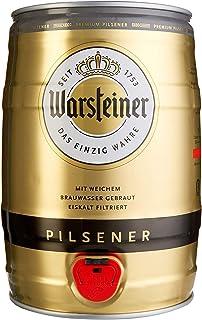 Warsteiner Pils - Barril de cervesa, 5 litros, no retornable