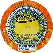 Innova Disc Golf I-Dye Champion Material Boss Golf Disc, 173-175gm (Colors may vary)