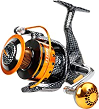 Burning Shark Fishing Reels- 12+1 BB, Light and Smooth Spinning Reels, Powerful Carbon Fiber Drag, Saltwater and Freshwater Fishing …