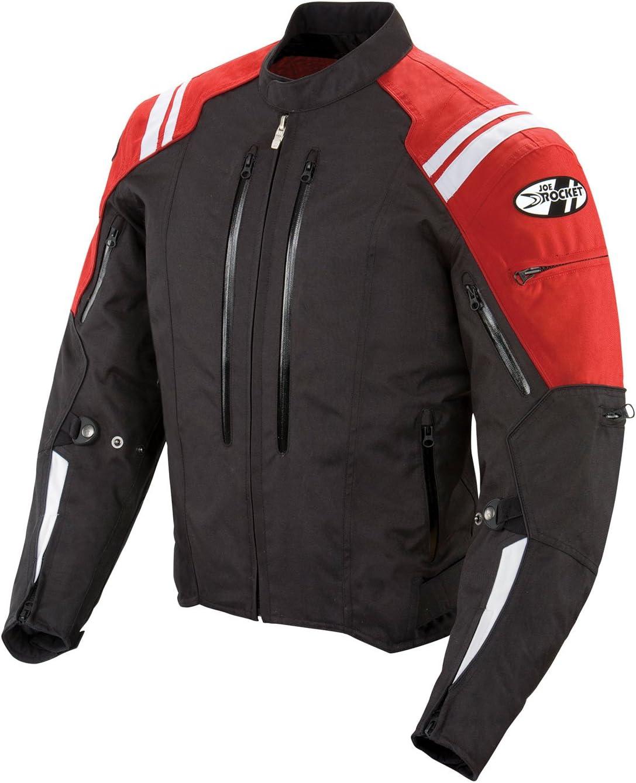 Joe Rocket Atomic 4.0 Men's Riding Jacket (Red, Small)