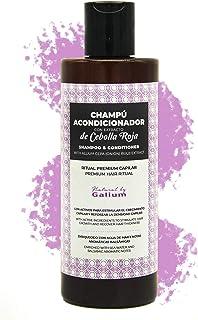Champú con Extracto de Cebolla Premium GALIUM | 250ml | Sin Sulfatos ni Parabenos ni Siliconas | Mejora el brillo y Refuer...