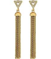 Rebecca Minkoff Triangle Tassel Earrings