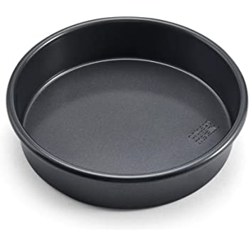 Chicago Metallic Professional Non-Stick Round Cake Pan, 9-Inch, Gray -
