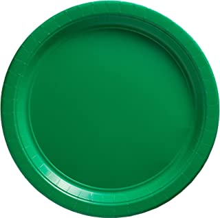 Big Party Pack Festive Green Paper Plates | 9