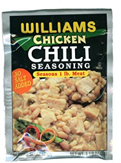 Williams Chicken Chili Seasoning - 1.13 Ounces (Pack of 6)