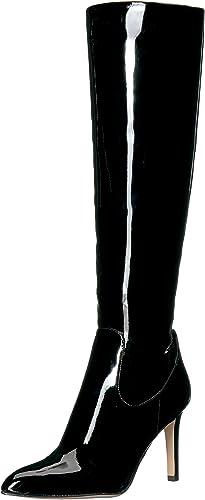 Sam Edelman damen& 039;s Olencia Knee High Stiefel, schwarz Patent, 6 Medium US