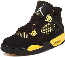 Jordan Air 4 Retro (Thunder) Black/White-Tour Yellow (13)