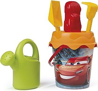 Smoby - Disney - Cars - Jeu Plage et Exterieur - Seau Garni Arrosoir + 5 Accessoires Inclus - 862042