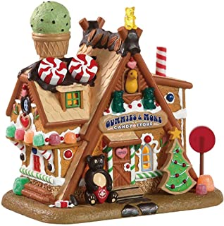 Lemax++Multicolored++Gummies+%26+More+Candy+Store++Christmas+Village