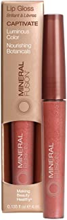 MINERAL FUSION Mineral fusion lip gloss captivate, 0.135 oz, 0.135 Ounce