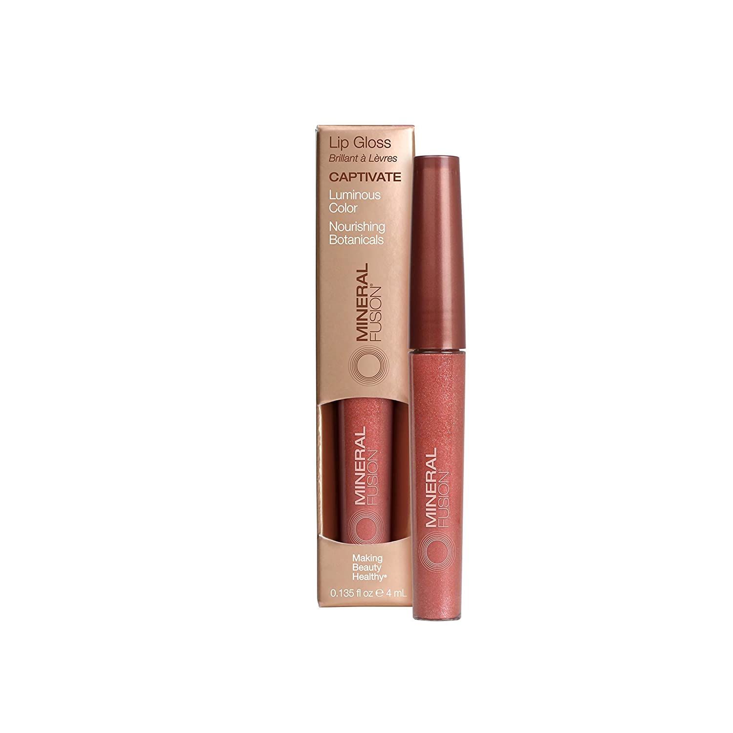 Mineral Raleigh Mall Fusion Lip trust Gloss oz Captivate 0.135