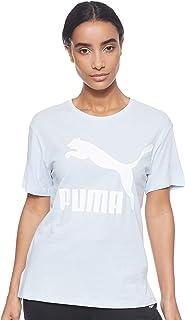 PUMA Women's Classics Logo Tee Heather