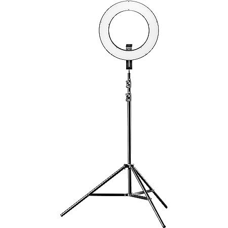Walimex Pro Led Ringleuchte 380 Bi Color Plus Stativ Kamera