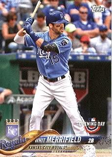 2018 Topps Opening Day #192 Whit Merrifield Kansas City Royals Baseball Card