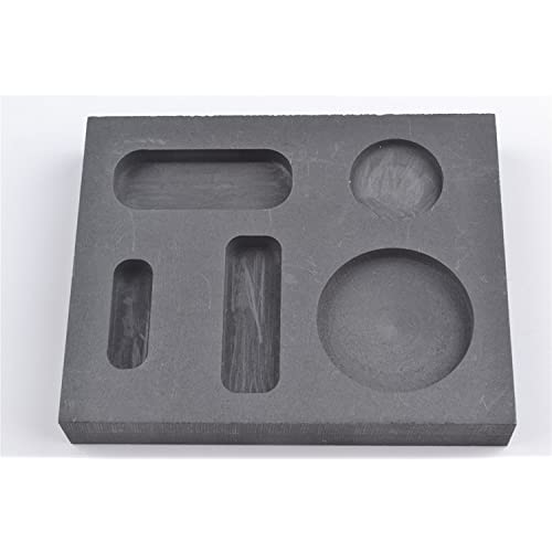 Jewellers Tools Casting Ingot Mould 200oz NO.7 Gold Silver Metal Melting Pour Crucible Tool