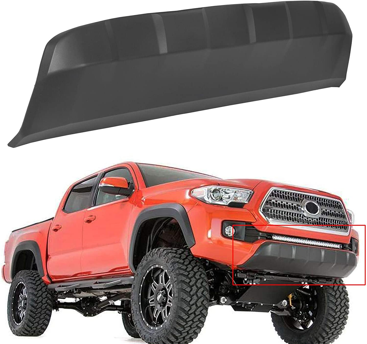 Buy Labwork Front Lower Bumper Valance Panel Skid Plate Black Replacement For 2016 2020 Toyota Tacoma 5391104210 Online In Indonesia B08ks1xr8d