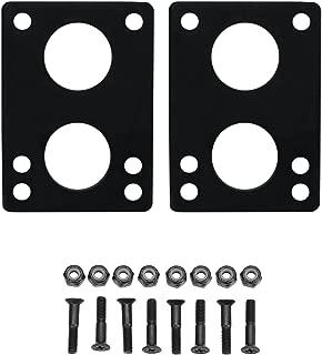 Longboard Riser Pads and Hardware 1/4