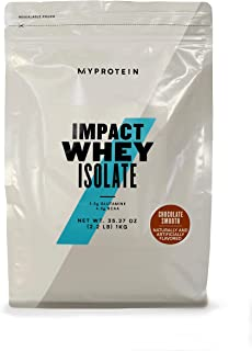 Myprotein® Impact Whey Isolate Protein Powder, Gluten Free Protein Powder, Muscle Mass Protein Powder,Dietary Supplement f...