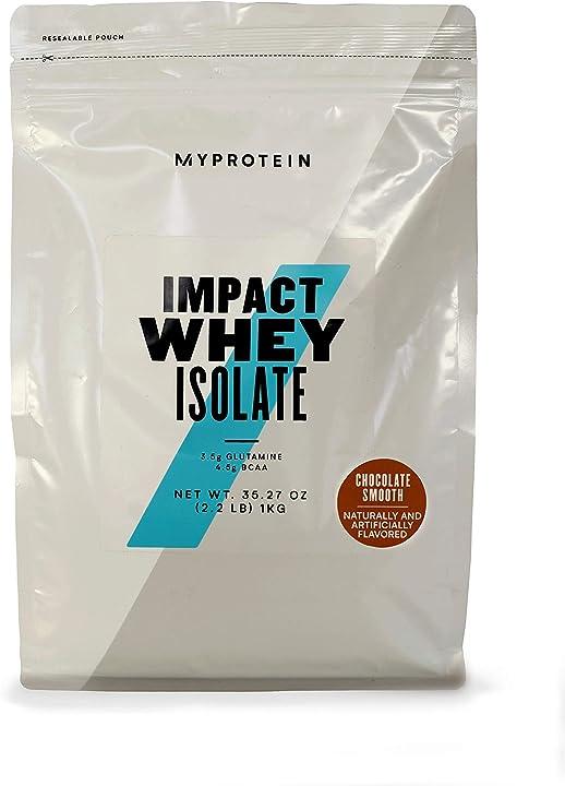 Proteine Cioccolato - Myprotein impact whey isolate siero di latte - 1 kg MYP-10530932