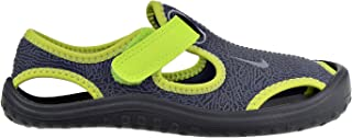Nike Sunray Protect (PS) Little Kid's Shoes Dark Grey/Wolf Grey/Volt 903631-002