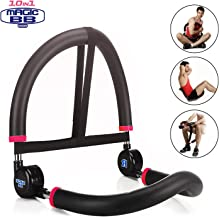 SYOSIN Abdominal Machine for Full Range of Motion Ab & Core Workouts, Home Fitness Equipment for Beginners
