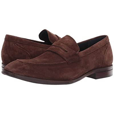 Cole Haan Warner Grand Penny Loafer (Bourbon Suede/Leather) Men