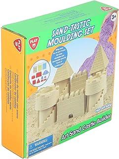 Play Go Sand Tastic Moulding Set, Castle Builder - 400 Gm