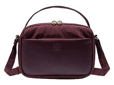 Herschel Supply Co. Orion Crossbody (Deep Burgundy) Handbags