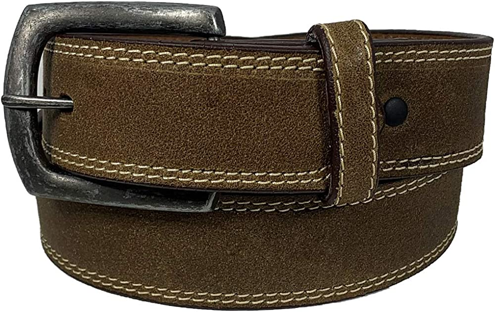 Twisted X Distressed Leather Bomber Belt – XWF-28