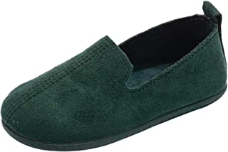 PPXID Girl's Boy's Suede Slip-on Loafers Boat Shoes