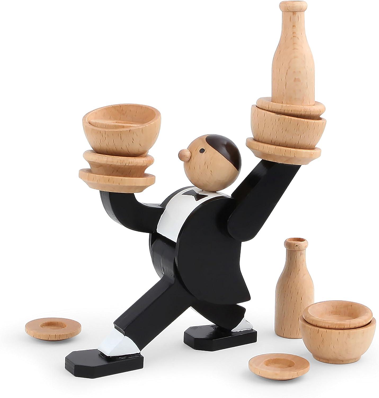 Kikkerland Don't Tip Free Shipping Cheap Bargain Gift The Stacking Ranking TOP7 Game Waiter