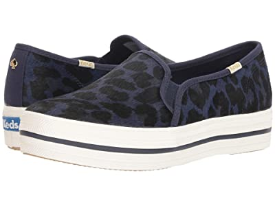 Keds x kate spade new york Triple Decker KS Leopard (Blue) Women