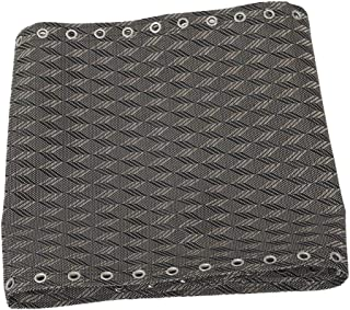 Flameer Recliner Replacement Cloth for Zero Gravity Chairs Pouch Holes 63x17inch - Rhombus- Grey