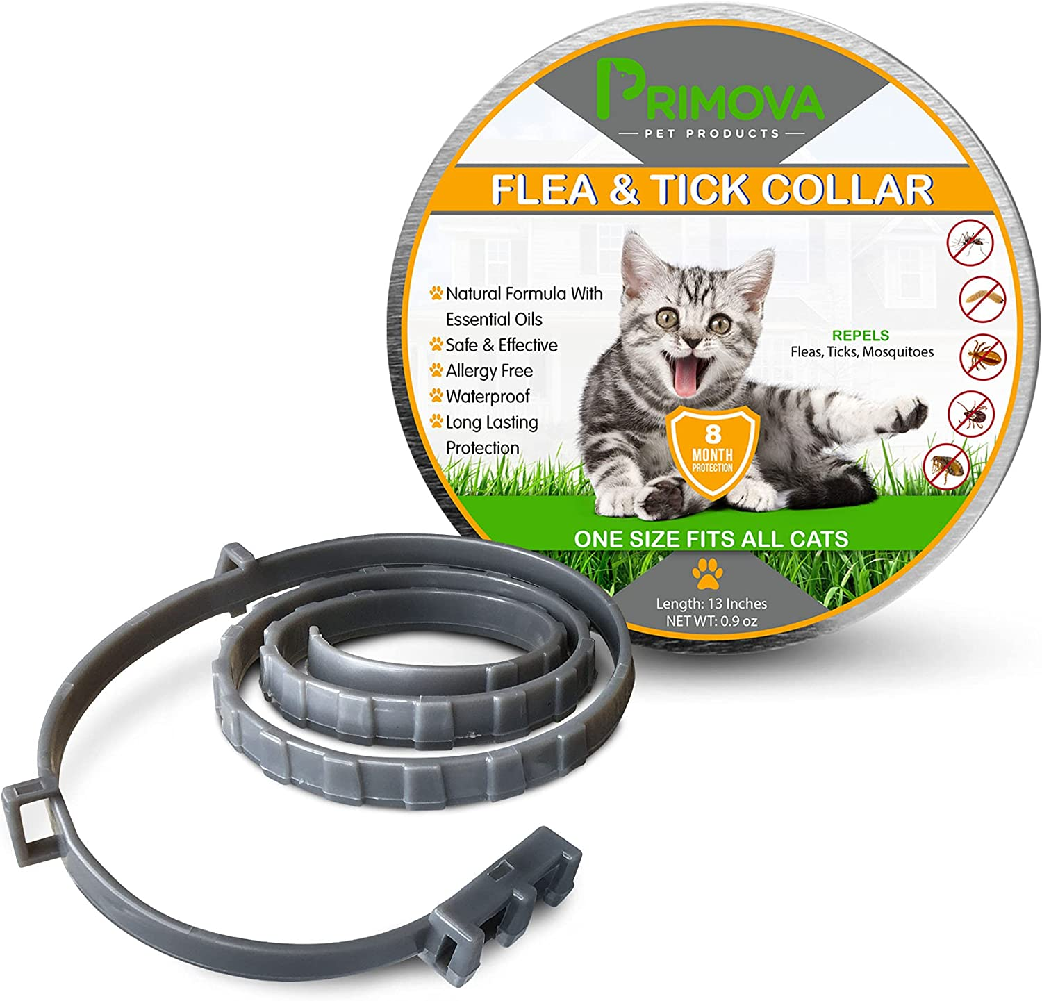 Primova Pet Products Be super welcome - Ranking TOP8 Flea and Collar Cat with Tick Comb