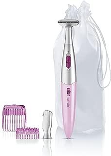 Braun Silk-épil Bikini Styler FG1103 Pink with 4 Extras