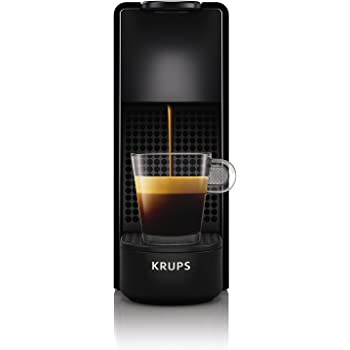 Krups Essenza Mini - Nespresso (1200 W), color negro Essenza, Mini Negro: Amazon.es: Hogar