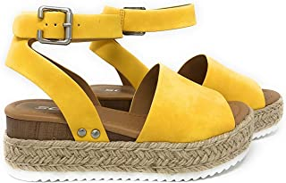Best Womens VALETT Open Toe Casual Ankle Strap Sandals Reviews