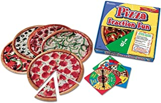 Learning Resources Pizza Fraction Fun Game, 13 Fraction Pizzas