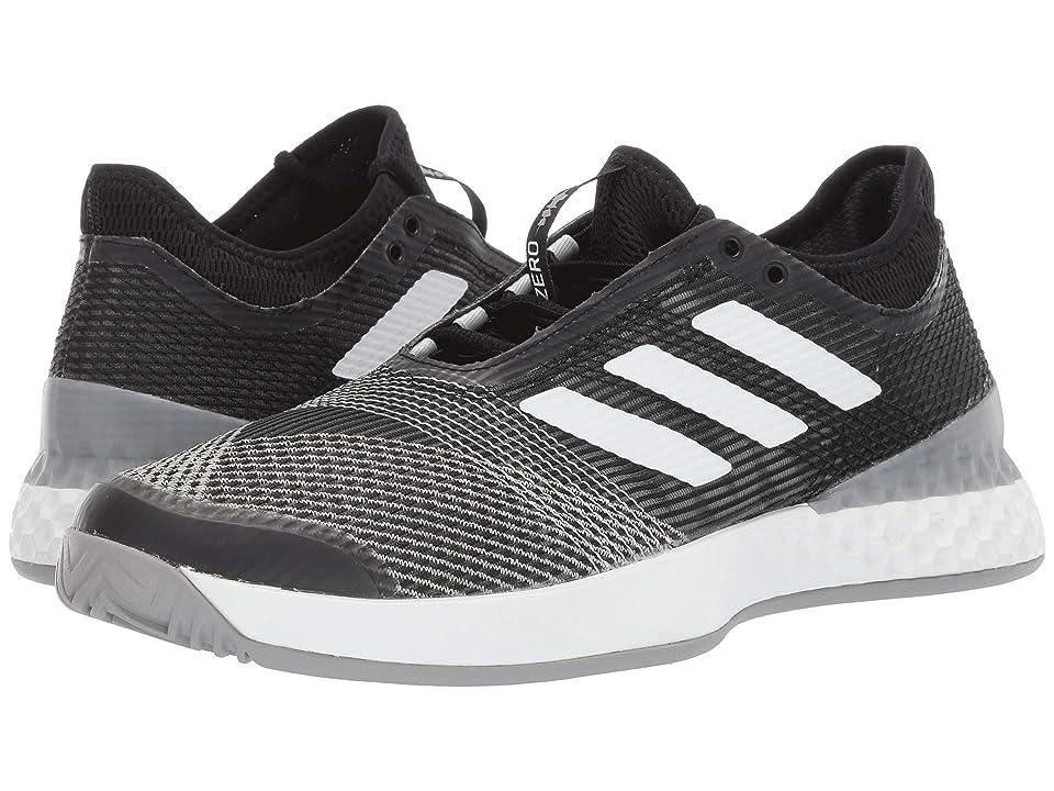 499fa122e42b adidas adizero Ubersonic 3 (Core Black Footwear White Light Granite) Men s  Shoes