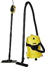 كارتشر دابليو دي 3 مكنسة كهربائية مع 1 مكنسة بخارية، اصفر، 893 * 783 * 535 ملم، 95552280