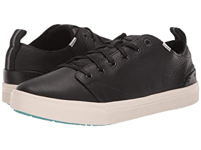 TOMS TRVL LITE Low (Black Pebbled Leather) Men