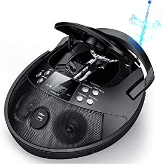 CD Player, CD Player Boombox Portable, VENLOIC Portable CD Player Boombox with USB, Radios CD Players for Home Small, Gift...