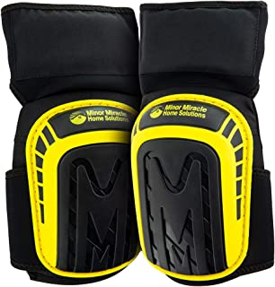 Premium Knee Pads For Hard Workers (Thigh Support Anti-Slip Band) Comfortable Cushioned Kneeling Gear that Stays in place, Heavy-Duty Construction Kneepad, Non-Slip Gel Knee pad, Gardening Kneepads.