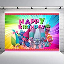Best trolls birthday background Reviews