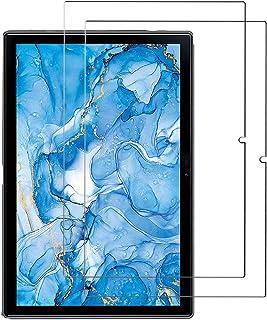 [2枚セット] Dragon Touch タブレット 10.1インチ NotePad 102 ガラス フィルム [YEZHU ] 9H硬度の液晶保護 日本板硝子社国産ガラス採用 気泡防止 耐衝撃 擦り傷防止 耐指紋 撥油性 高透過率 ラウンドエ...